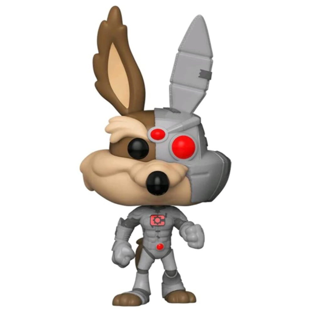 FIGURA POP ANIMATION: DC LOONEY TUNES- COYOTE AS CYBORG SPECIAL EDITION