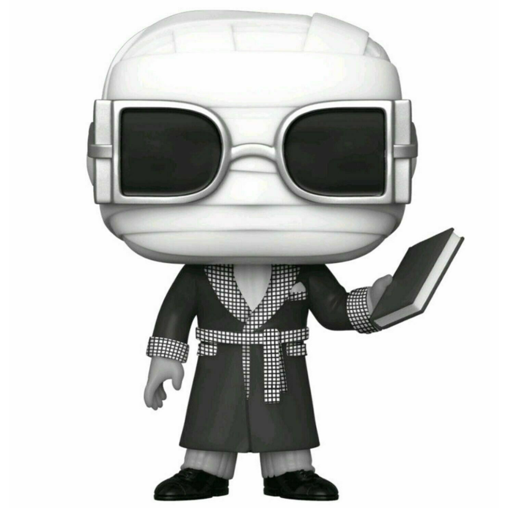 FIGURA POP MOVIES: UNIVERSAL MONSTERS- INVISIBLE MAN (BLACK AND WHITE)