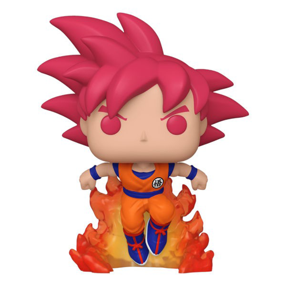 FIGURA POP ANIMATION: SDCC 2020 DBS- SUPER SAIYAN GOD GOKU