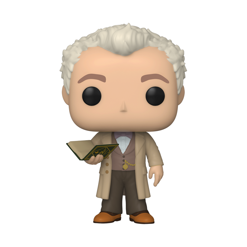 FIGURA POP TV: GOOD OMENS -AZIRAPHALE W/ BOOK
