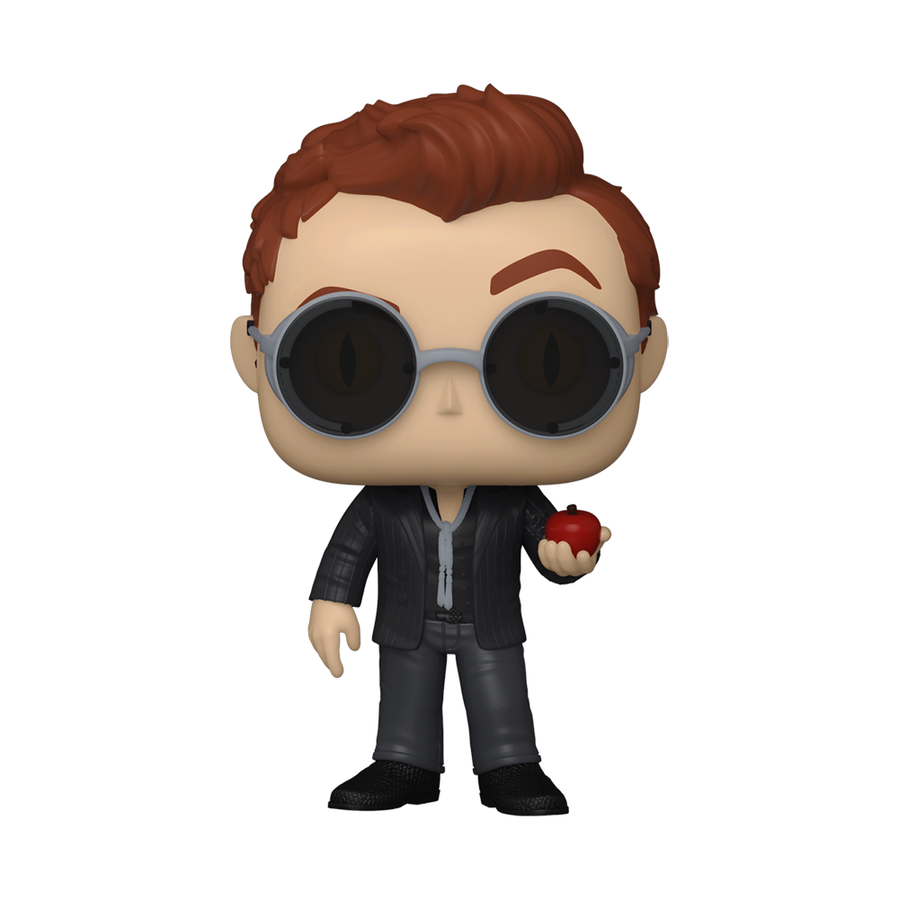 FIGURA POP TV: GOOD OMENS -CROWLEY W/ APPLE