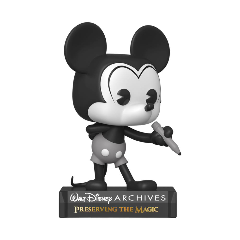 FIGURA POP DISNEY: ARCHIVES- MICKEY MOUSE (B&W)