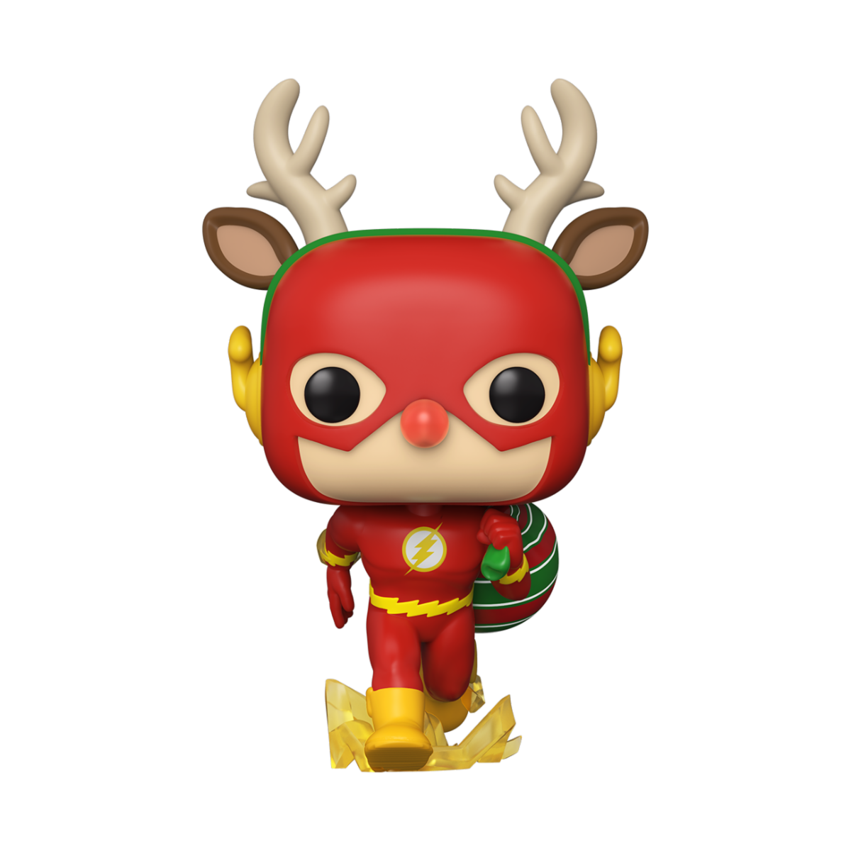 FIGURA POP HEROES: DC HOLIDAY -RUDOLPH FLASH