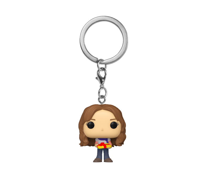 FIGURA POP KEYCHAIN: HP HOLIDAY -HERMIONE