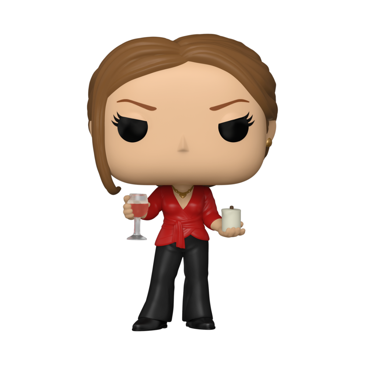 FIGURA POP TV: THE OFFICE- JAN W/WINE & CANDLE