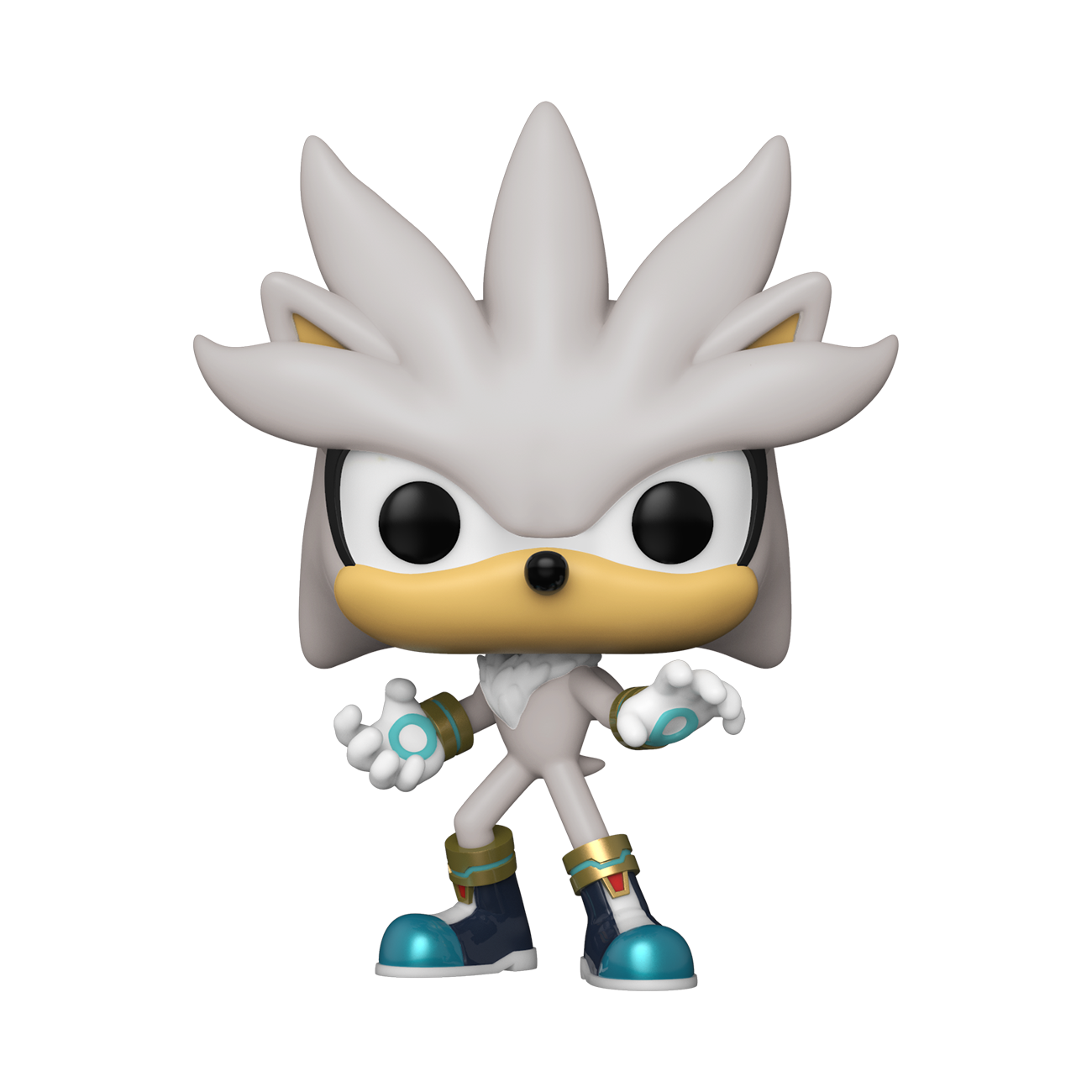 FIGURA POP GAMES: SONIC 30TH -SILVER THE HEDGEHOG