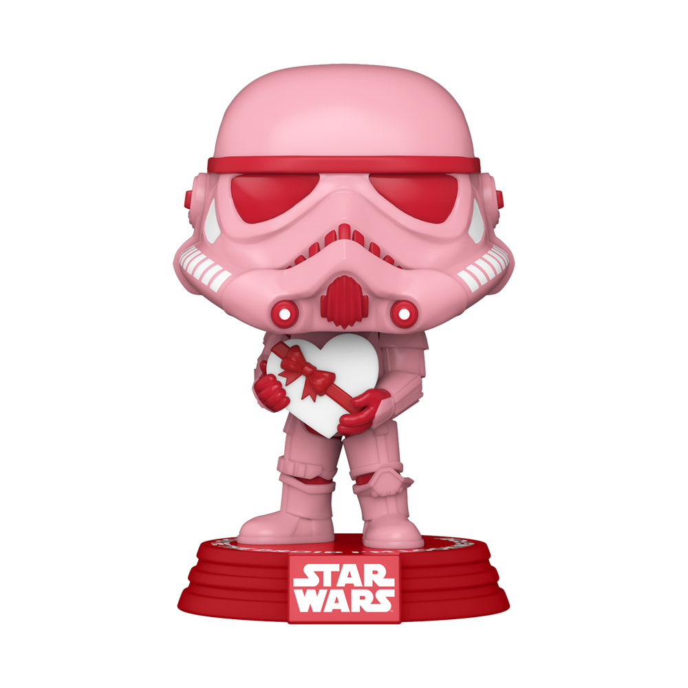 FIGURA POP STAR WARS: VALENTINES -STORMTROOPER W/HEART