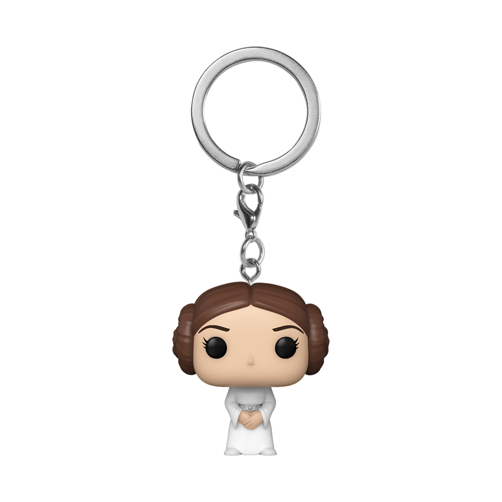 POP KEYCHAIN: STAR WARS -LEIA