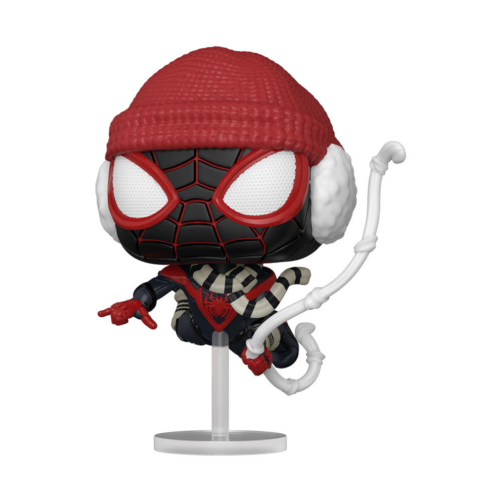 FIGURA POP GAMES: MILES MORALES - WINTER SUIT