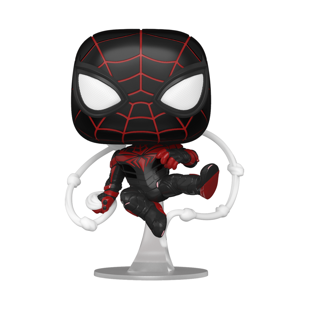 FIGURA POP GAMES: MILES MORALES - ADVANCED TECH SUIT