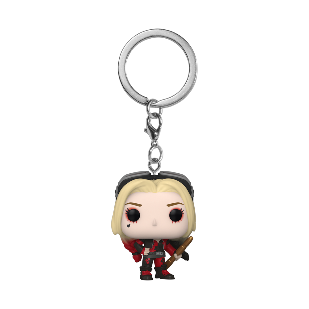 POP KEYCHAIN: THE SUICIDE SQUAD - HARLEY QUINN (BODYSUIT)