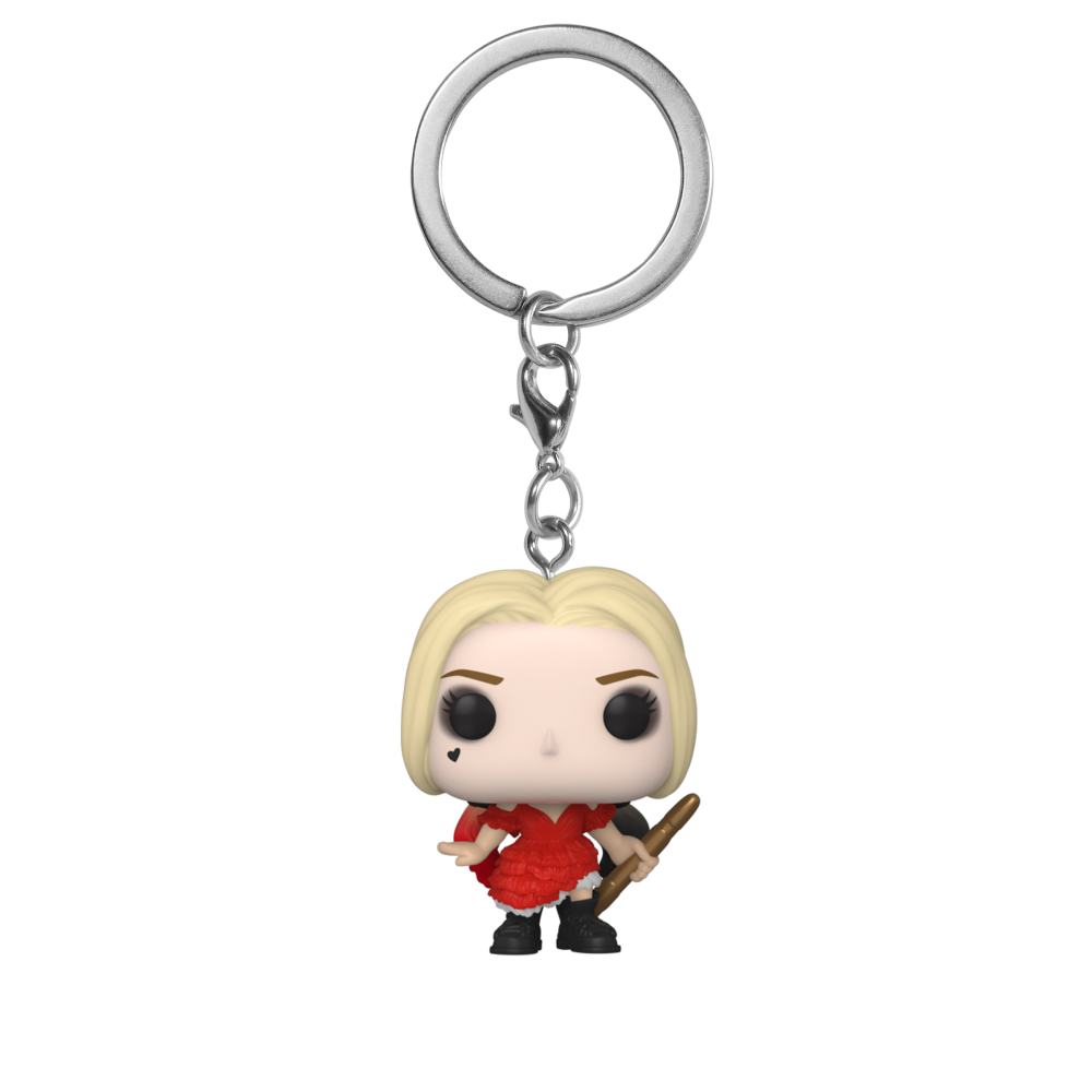 POP KEYCHAIN: THE SUICIDE SQUAD – HARLEY QUEEN (DAMAGED DRESS)