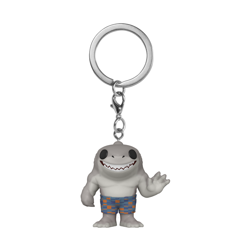 POP KEYCHAIN: THE SUICIDE SQUAD - KING SHARK
