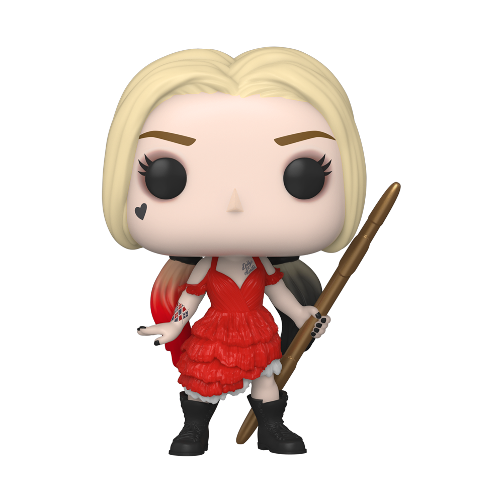 FIGURA POP MOVIES: THE SUICIDE SQUAD – HARLEY QUINN (DAMAGED DRESS)