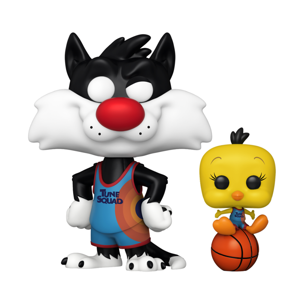 FIGURA POP MOVIES: SPACE JAM 2- SYLVESTER AND TWEETY