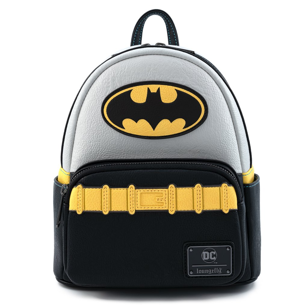 MINI MOCHILA LOUNGEFLY DC: BATMAN COSPLAY
