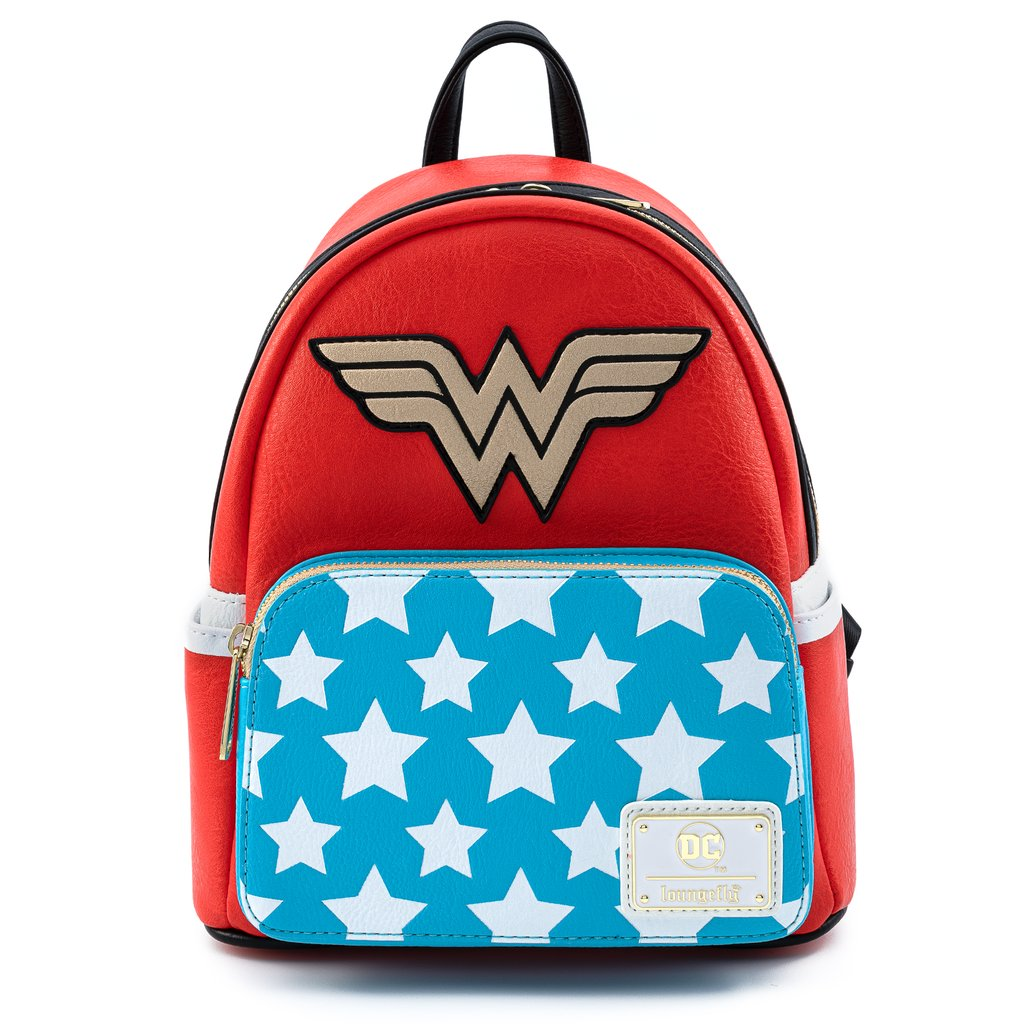 MINI MOCHILA LOUNGEFLY DC: WONDER WOMAN COSPLAY