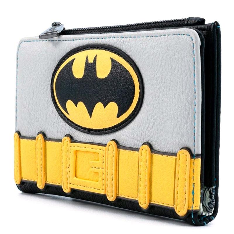 CARTERA LOUNGEFLY DC COMICS VINTAJE BATMAN COSPLAY