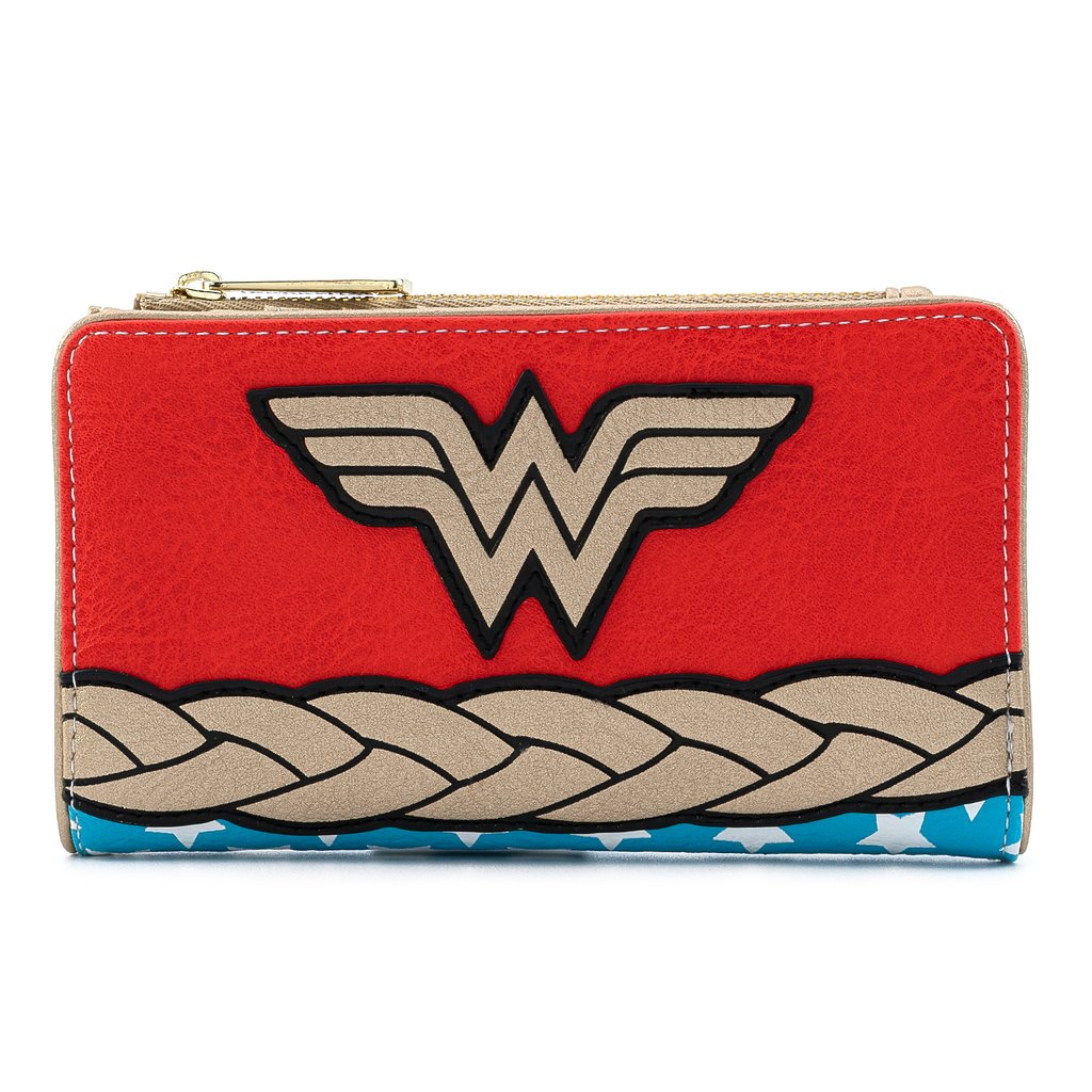 CARTERA LOUNGEFLY DC: WONDER WOMAN
