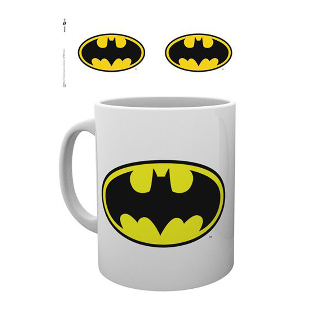 BATMAN TAZA BAT SYMBOL