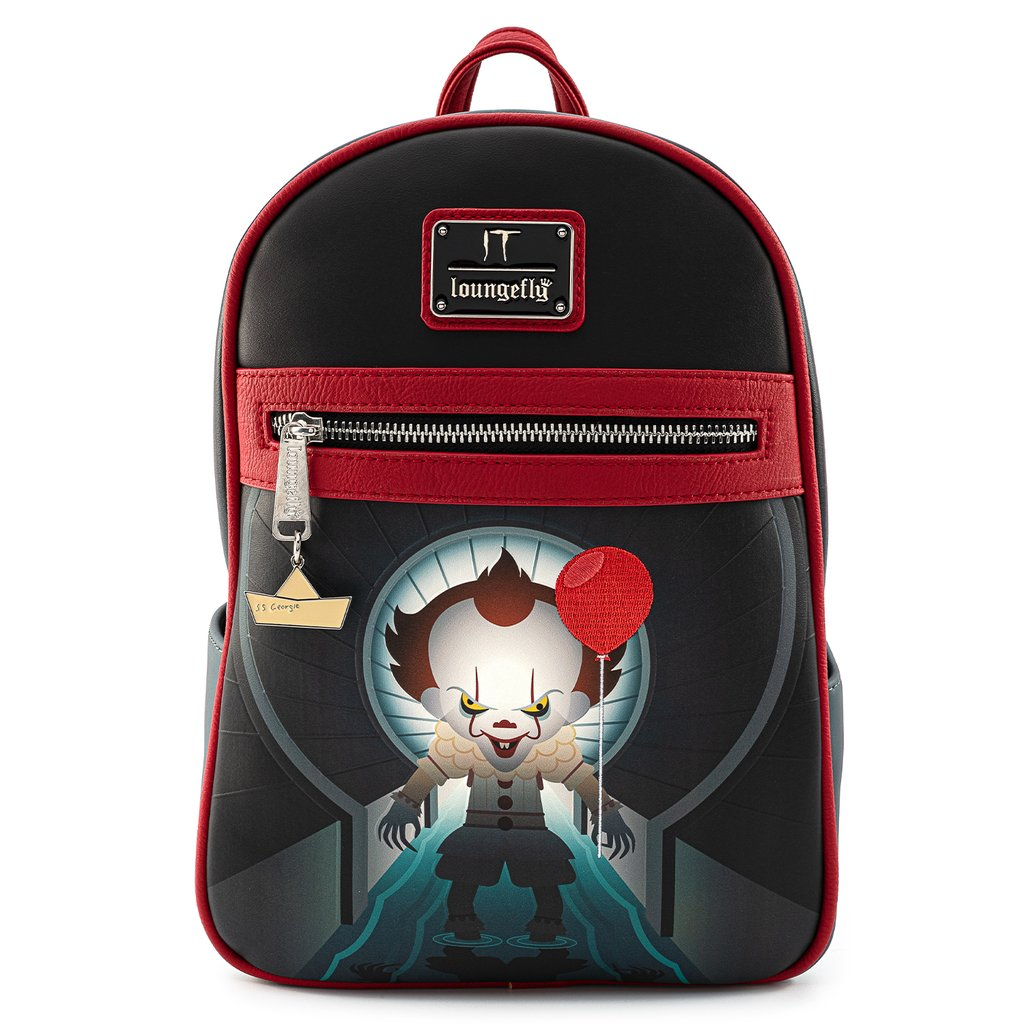 MINI MOCHILA LOUNGEFLY IT: PENNYWISE YOU'LL FLOAT TOO