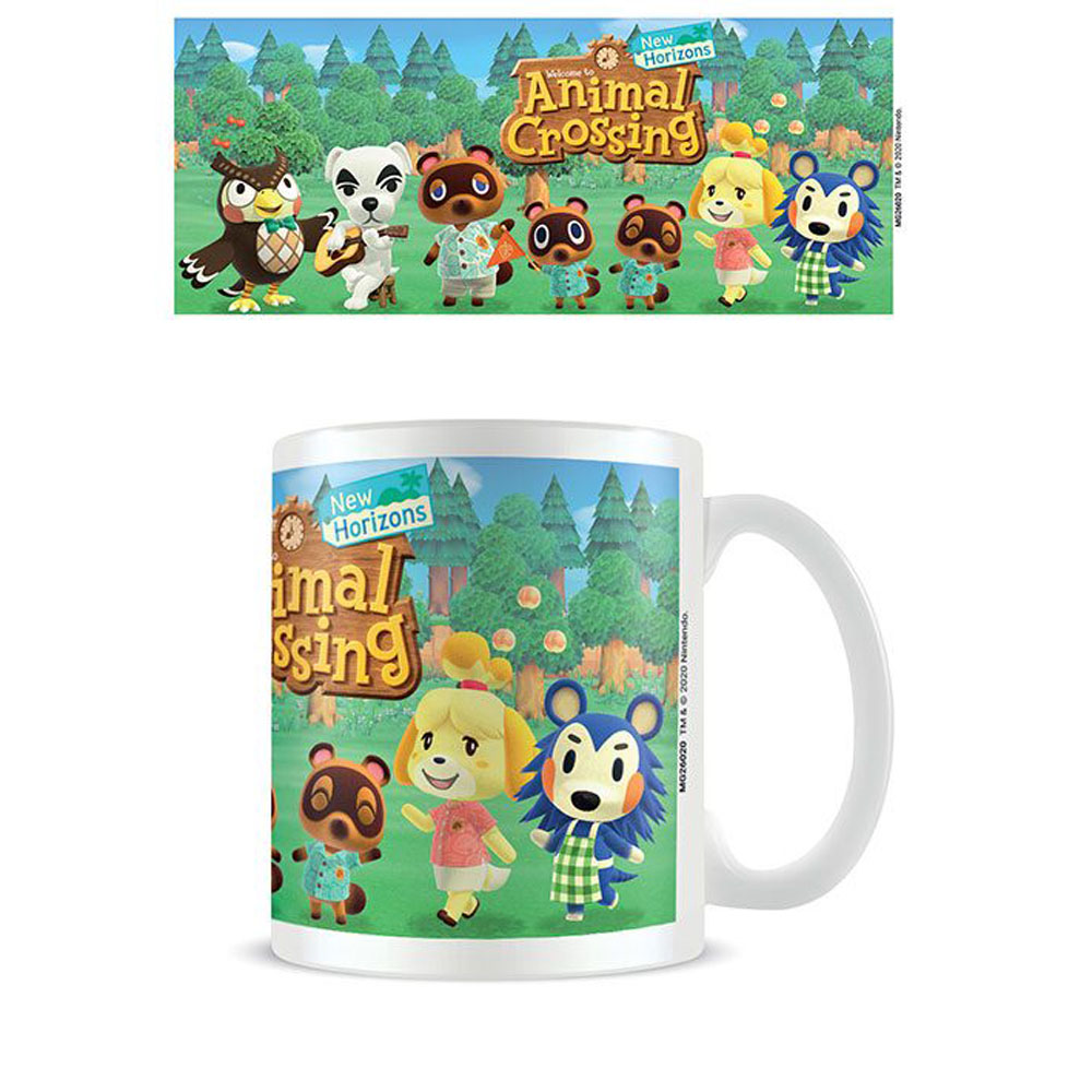 ANIMAL CROSSING TAZA LINEUP