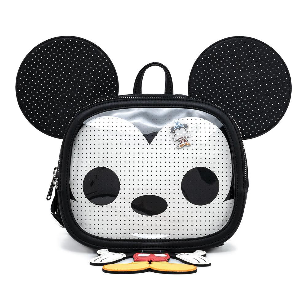 MINI MOCHILA LOUNGEFLY DISNEY: MICKEY MOUSE PIN COLLECTOR