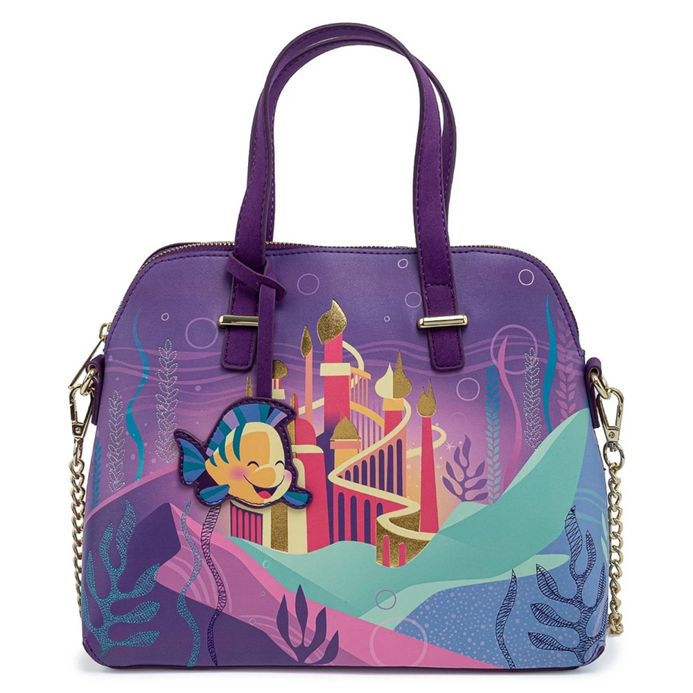 BOLSO LOUNGEFLY DISNEY: ARIEL CASTLE COLLECTION
