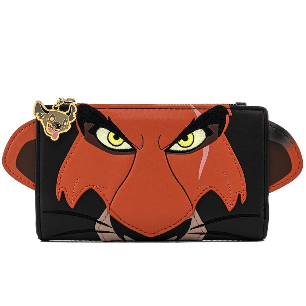 CARTERA LOUNGEFLY DISNEY: THE LION KING SCAR