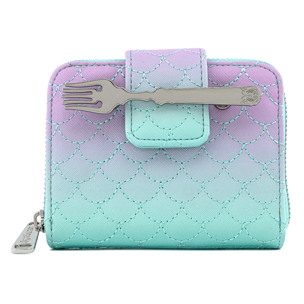 CARTERA LOUNGEFLY DISNEY: LITTLE MERMAID OMBRE SCALES