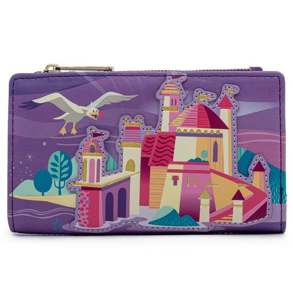CARTERA LOUNGEFLY DISNEY: ARIEL CASTLE COLLECTION