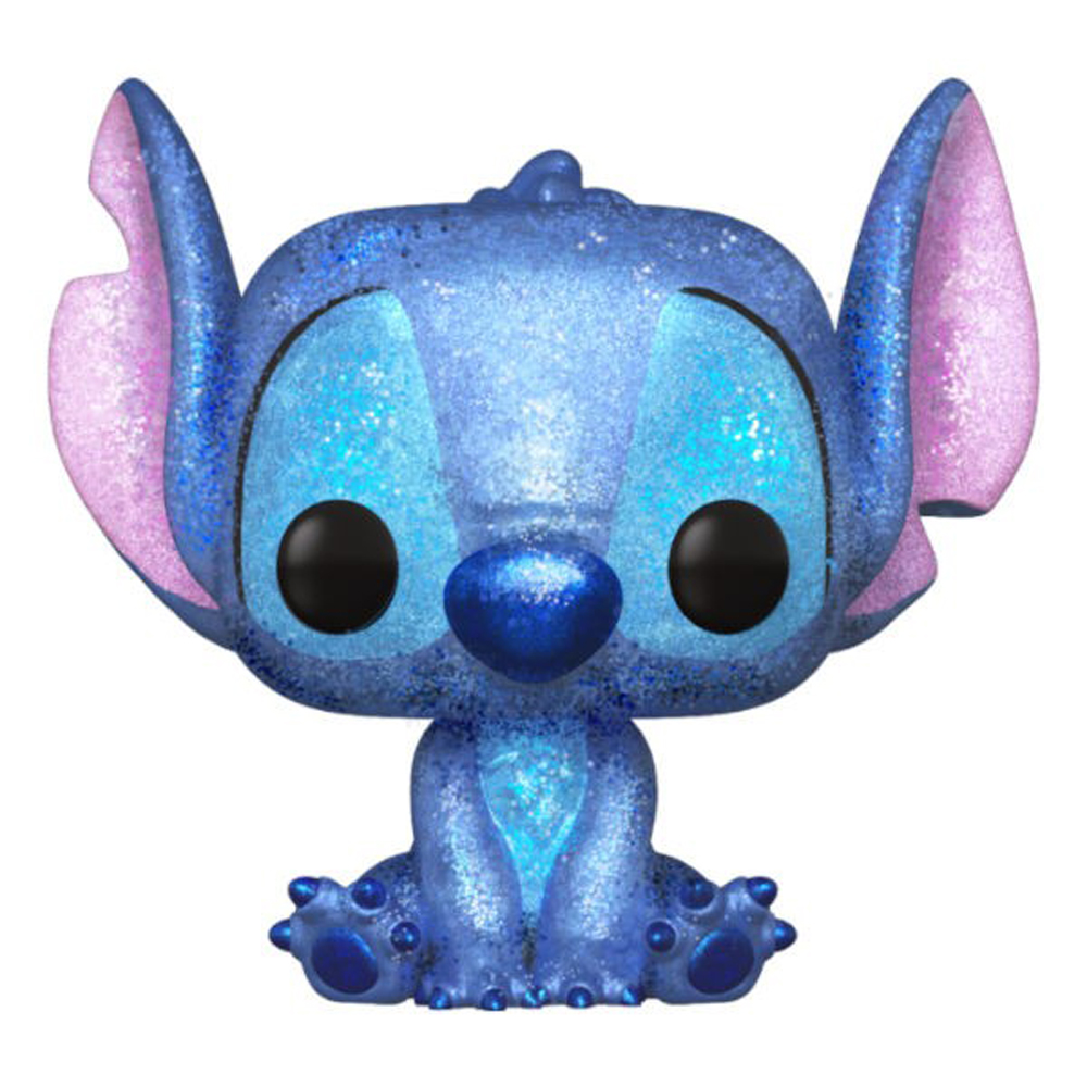 POP DISNEY: LILO AND STITCH - STITCH SEATED DIAMOND GLITTER