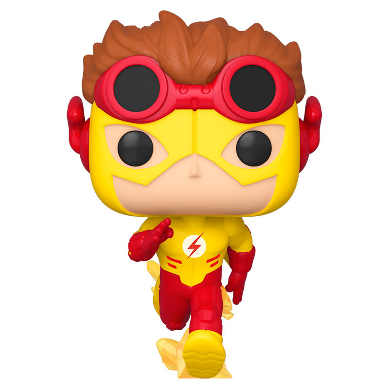 POP ANIMATION: YOUNG JUSTICE- KID FLASH