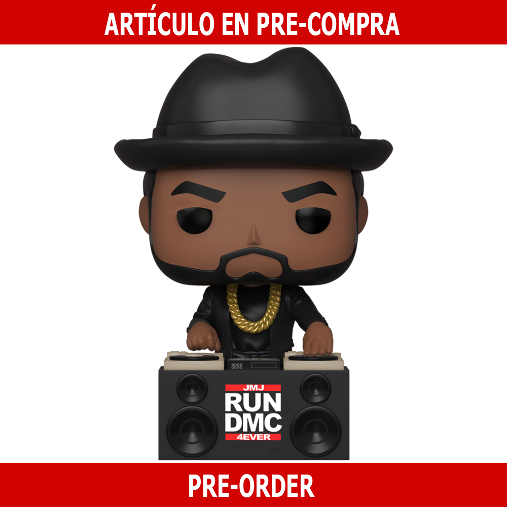 PRE-COMPRA - POP ROCKS: RUN DMC -JAM MASTER JAY