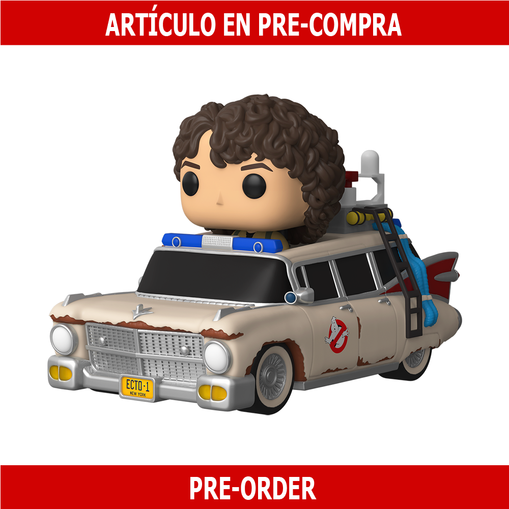PRE-COMPRA - POP RIDE SUPER DELUXE: GHOSTBUSTERS: AFTERLIFE - ECTO 1 WITH TREVOR