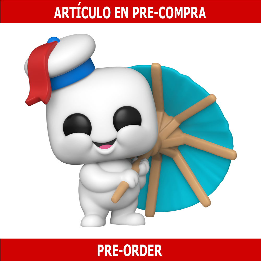 PRE-COMPRA - POP MOVIES: GHOSTBUSTERS: AFTERLIFE - MINI PUFT WITH COCKTAIL UMBRELLA