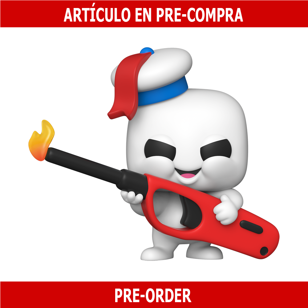 PRE-COMPRA - POP MOVIES: GHOSTBUSTERS: AFTERLIFE - MINI PUFT WITH LIGHTER