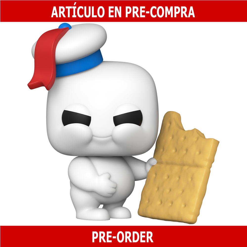 PRE-COMPRA - POP MOVIES: GHOSTBUSTERS: AFTERLIFE - MINI PUFT WITH GRAHAM CRACKER