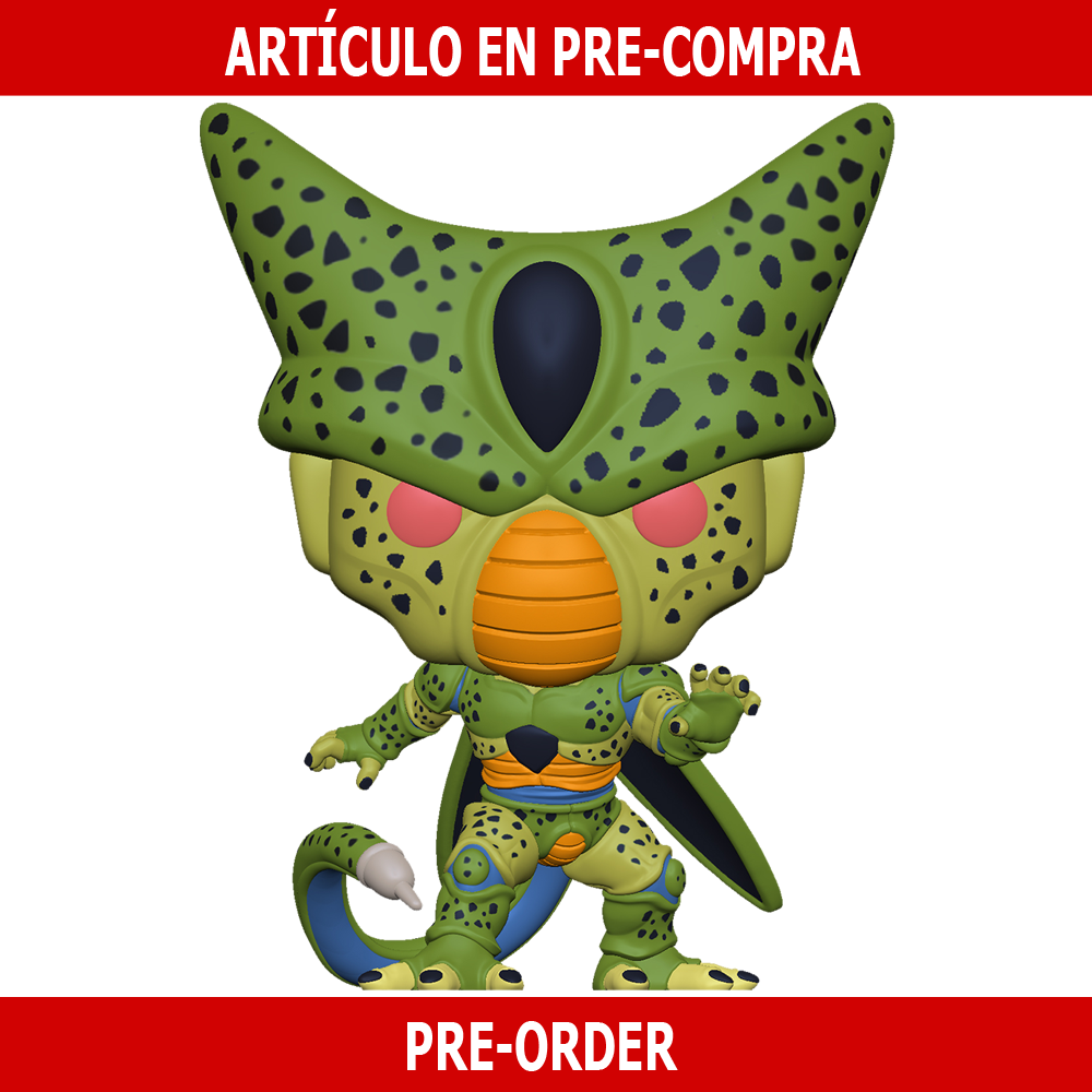 PRE-COMPRA - POP ANIMATION: DBZ S8- CELL (FIRST FORM)
