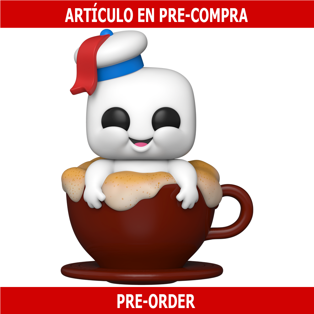 PRE-COMPRA - POP MOVIES: GHOSTBUSTERS: AFTERLIFE - MINI PUFT IN CAPPUCCINO CUP