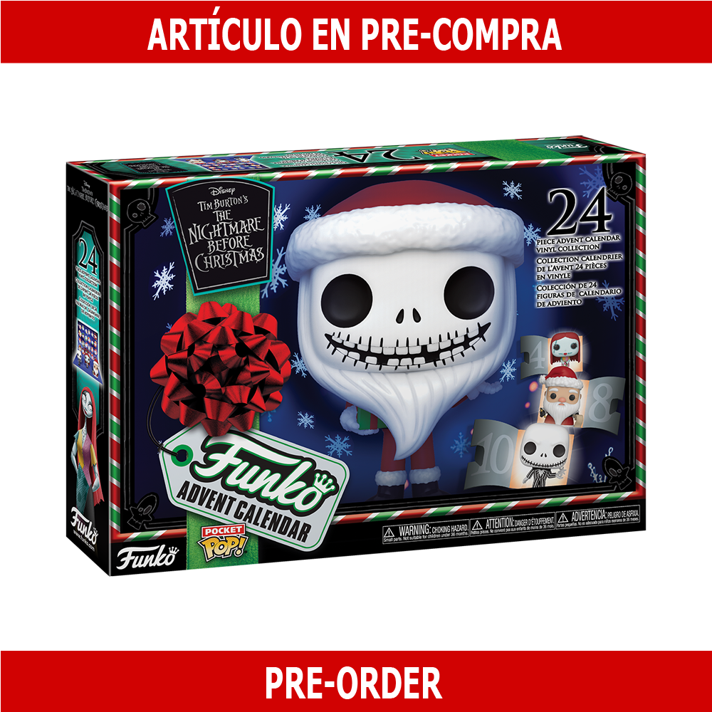 PRE-COMPRA - ADVENT CALENDAR: THE NIGHTMARE BEFORE CHRISTMAS (TNBC) 2020
