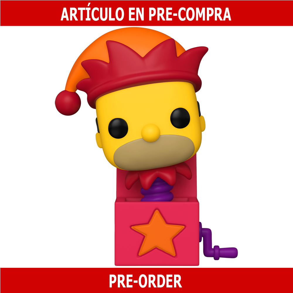 PRE-COMPRA - POP ANIMATION: SIMPSONS -HOMER JACK-IN-THE-BOX