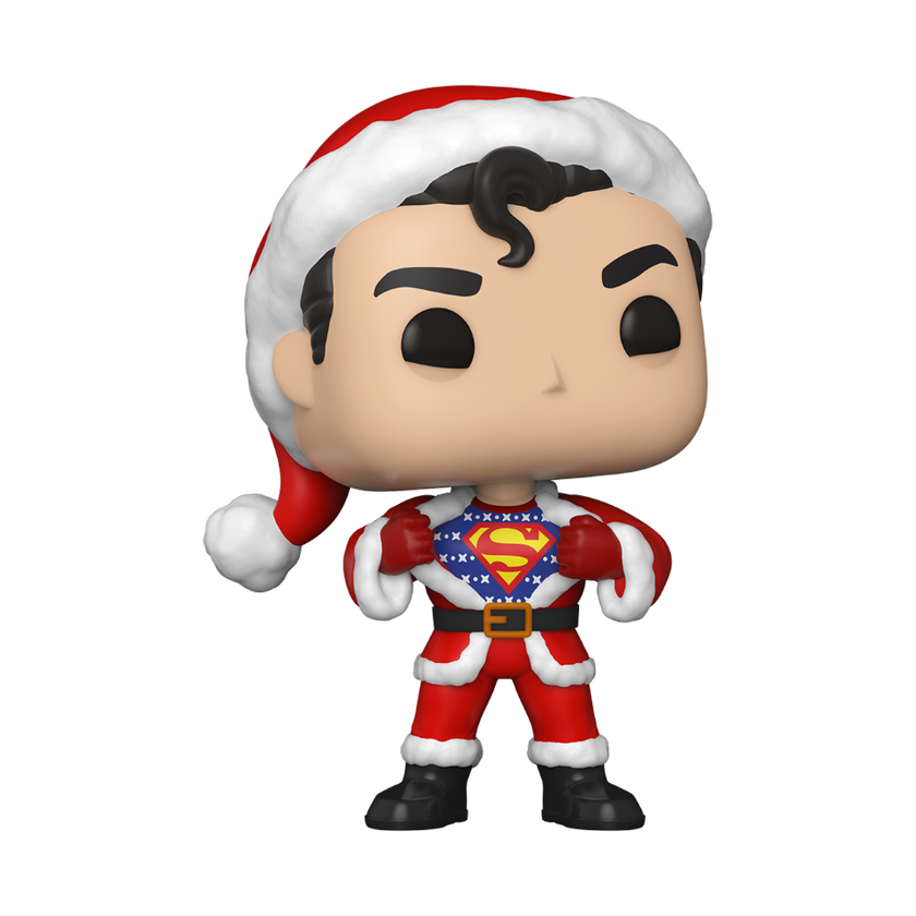 PRE-COMPRA - POP HEROES: DC HOLIDAY -SUPERMAN W/ SWEATER