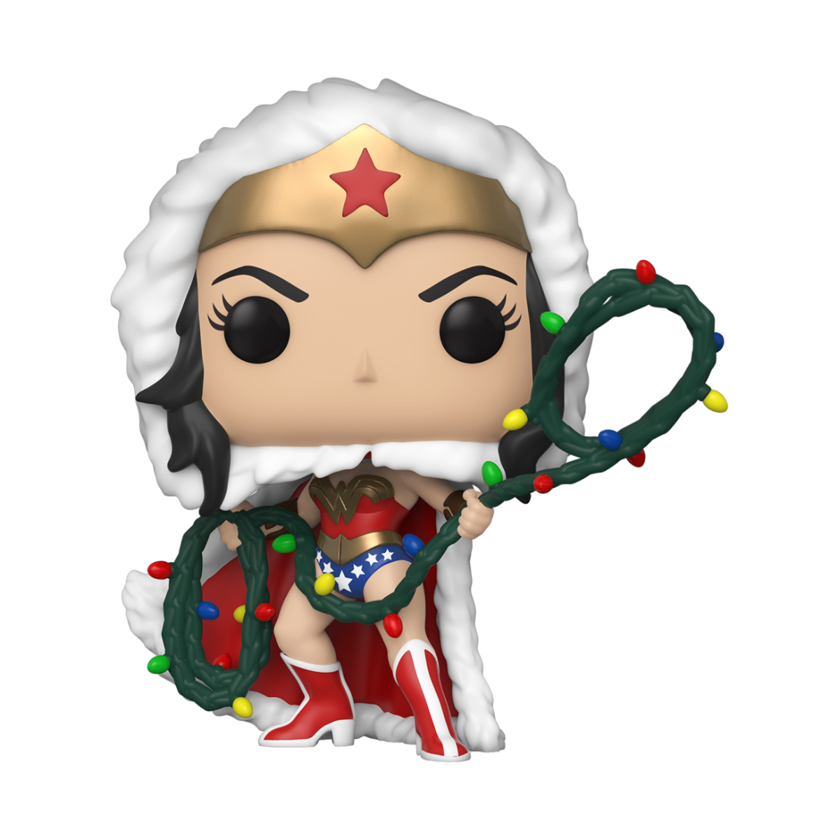 PRE-COMPRA - POP HEROES: DC HOLIDAY -WONDER WOMAN W/ LIGHTS LASSO