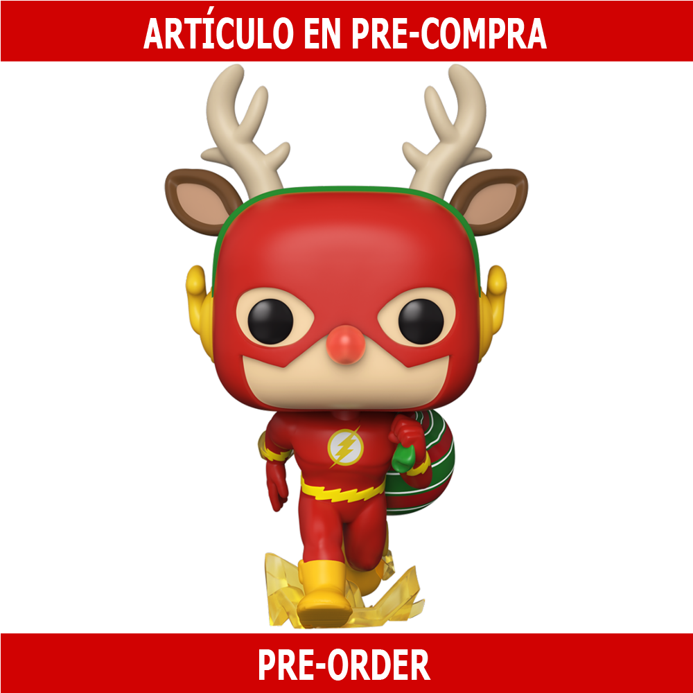 PRE-COMPRA - POP HEROES: DC HOLIDAY -RUDOLPH FLASH