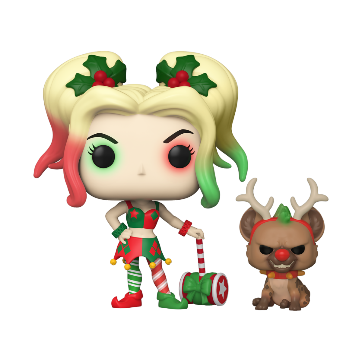 POP HEROES: DC HOLIDAY - HARLEY QUINN W/HELPER