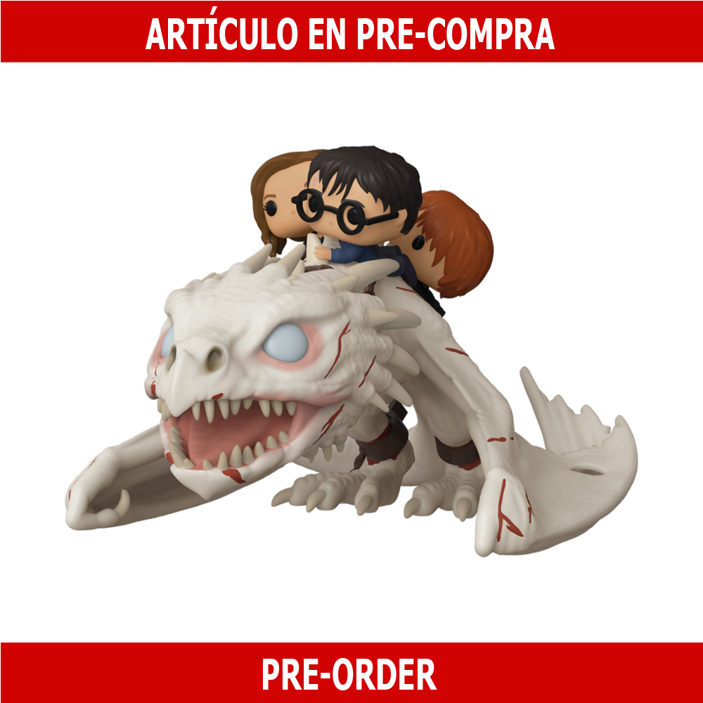 PRE-COMPRA - POP RIDE: DRAGON W/ HARRY, RON, AND HERMIONE