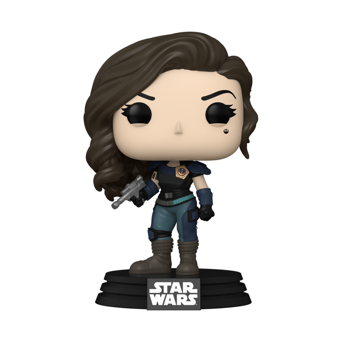 POP STAR WARS: THE MANDALORIAN - CARA DUNE WITH BLASTER