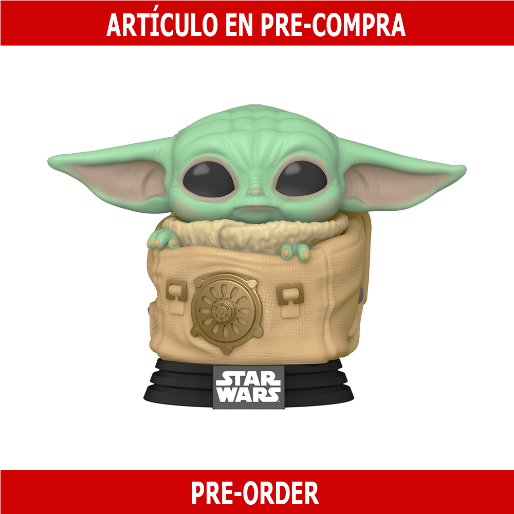 PRE-COMPRA - POP STAR WARS:THE MANDALORIAN -CHILD W/ BAG