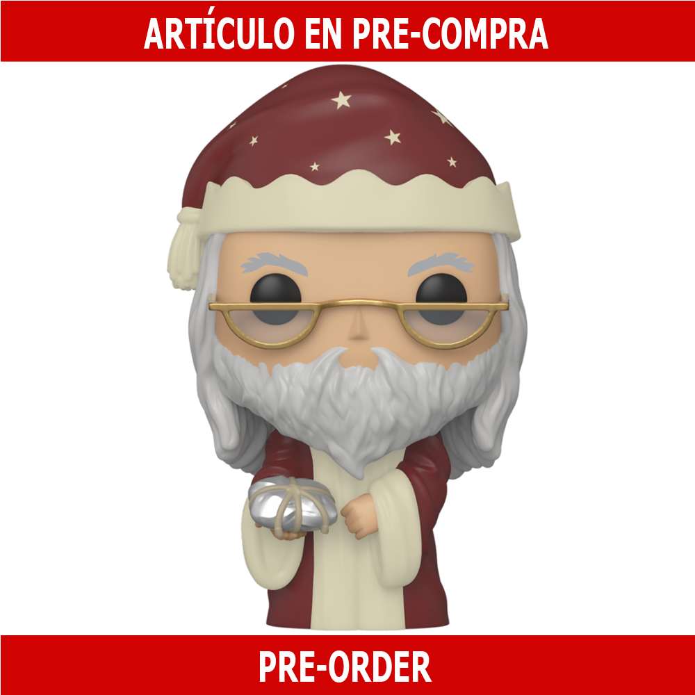 PRE-COMPRA - POP HP: HOLIDAY -DUMBLEDORE